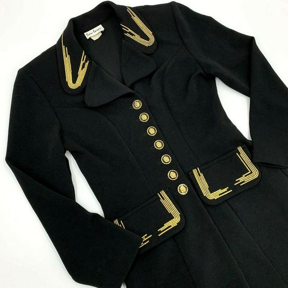 Gold Band Military Jacket Coat